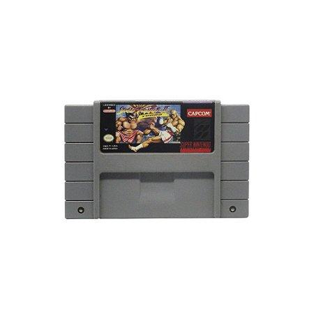 Jogo Street Fighter II Turbo - SNES