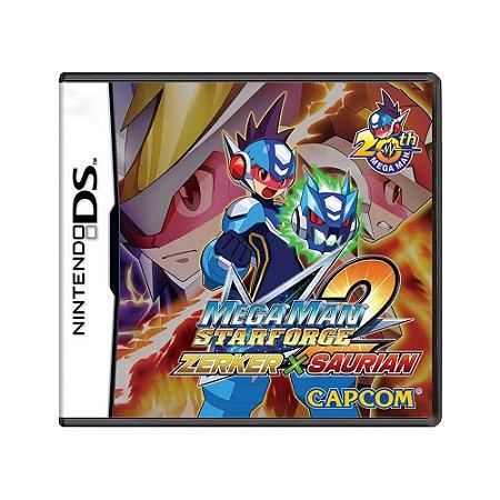 Jogo Mega Man Star Force 2: Zerker x Saurian - DS