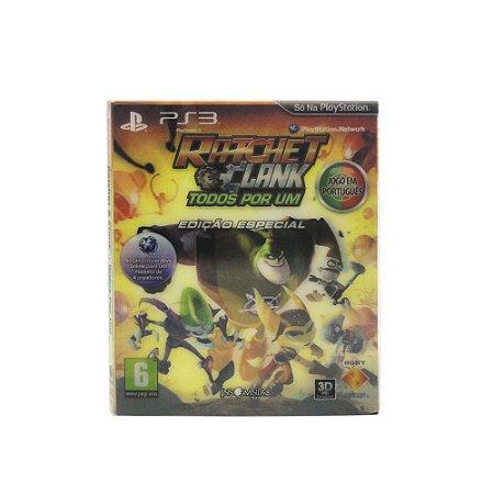Jogo Ratchet & Clank: Todos Por Um (Edição Especial) - PS3