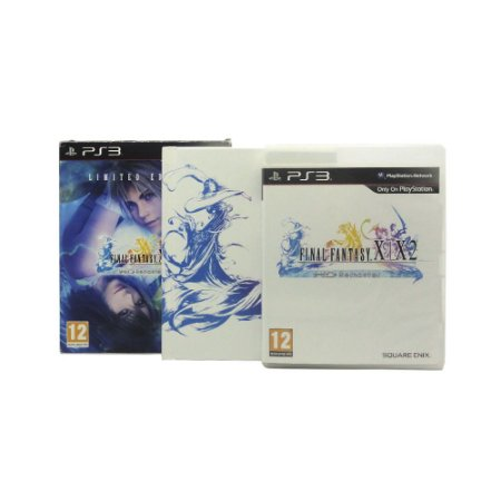 Jogo Final Fantasy X / X-2 HD Remaster (Limited Edition) - PS3