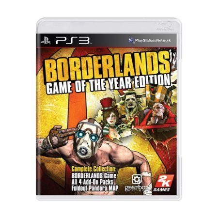 Jogo Borderlands (Game of the Year Edition) - PS3