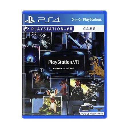 Jogo PlayStation VR (Demo Disc 2.0) - PS4
