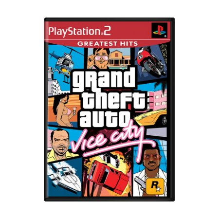 Jogo Grand Theft Auto: Vice City - PS2