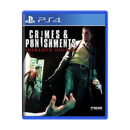Jogo Sherlock Holmes: Crimes e Punishments - PS4