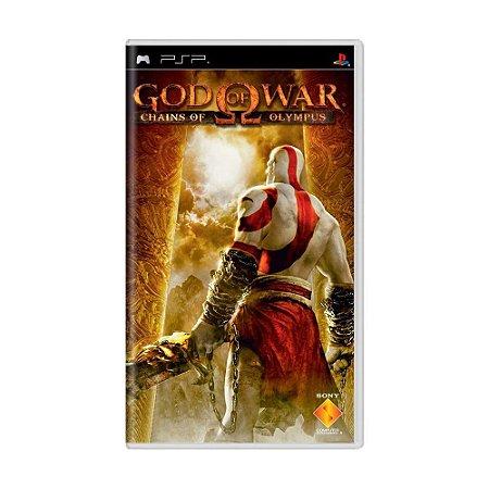 Jogo God of War: Chains Of Olympus - PSP