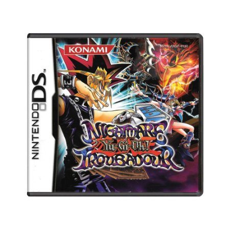 Jogo Yu-Gi-Oh! Nightmare Troubadour - DS