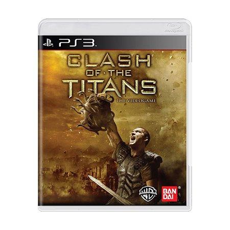 Jogo Clash of The Titans - PS3