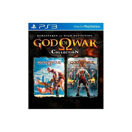 Jogo God of War Collection (Capa Dura) - PS3