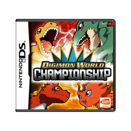 Jogo Digimon World Championship - DS