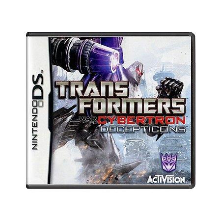 Jogo Transformers: War for Cybertron - Decepticons - DS