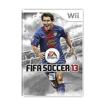 Jogo FIFA Soccer 13 - Wii