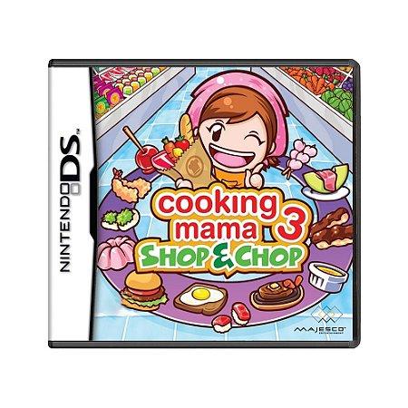 Jogo Cooking Mama 3: Shop & Chop - DS