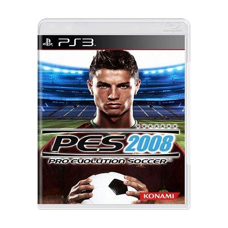 Jogo Pro Evolution Soccer 2008 - PS3