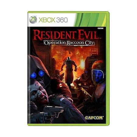Jogo Resident Evil: Operation Raccoon City - Xbox 360 (Japonês)