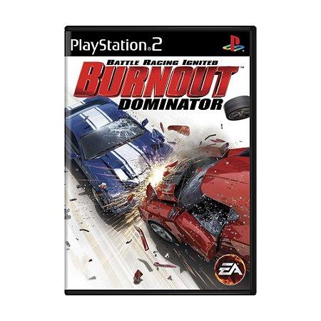 Jogo Burnout Dominator - PS2