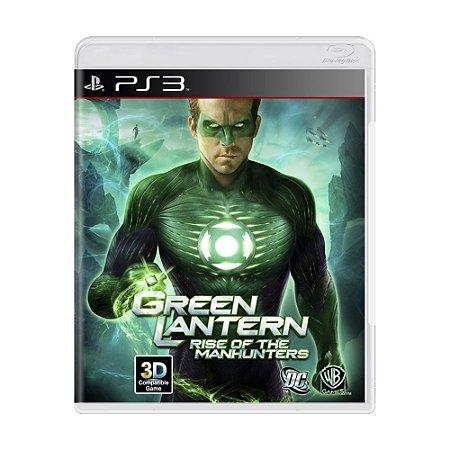 Jogo Green Lantern: Rise of the Manhunters - PS3