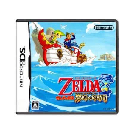 Jogo The Legend of Zelda: Phantom Hourglass - DS (Japonês)