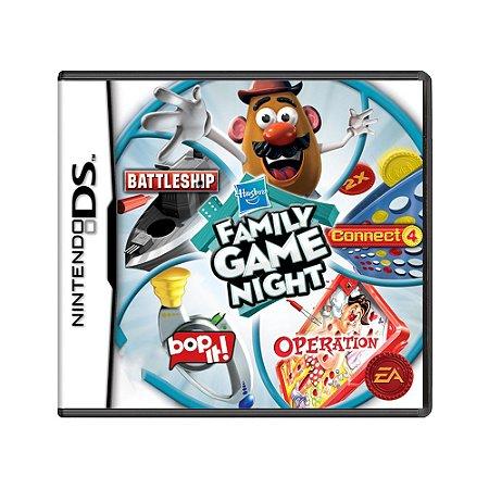 Jogo Hasbro Family Game Night - DS