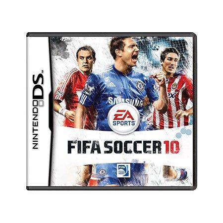 Jogo FIFA Soccer 10 - DS