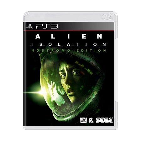 Jogo Alien Isolation (Nostromo Edition) - PS3