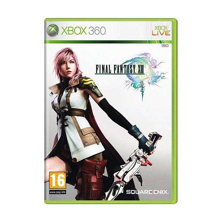 Jogo Final Fantasy XIII - Xbox 360 (Europeu)