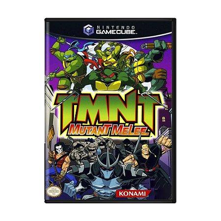 Jogo TMNT: Mutant Melee - GameCube