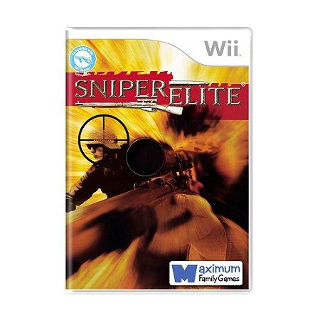 Jogo Sniper Elite - Wii