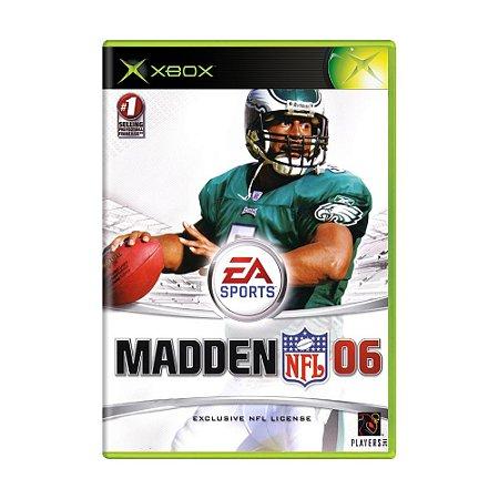 Jogo Madden NFL 06 - Xbox