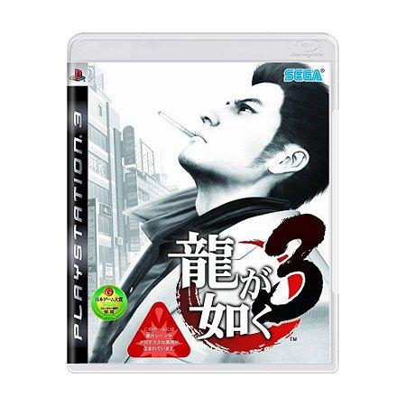 Jogo Yakuza 3 - PS3