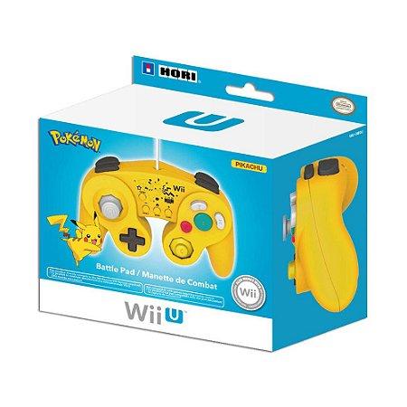 Controle Nintendo GameCube Pikachu - GameCube e Wii U