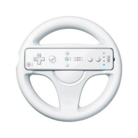 Volante Branco para Nintendo Wii (Sem Marca) - Wii
