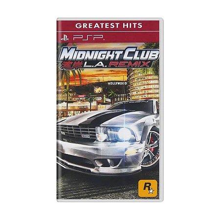 Jogo Midnight Club: LA Remix - PSP