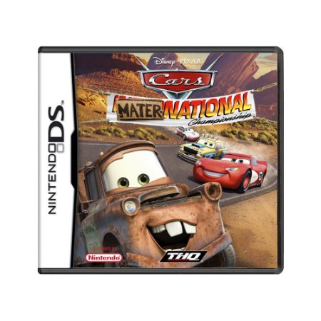 Jogo Cars Mater-National Championship - DS