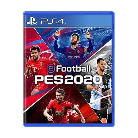 Jogo eFootball Pro Evolution Soccer 2020 - PS4
