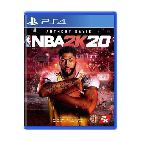 Jogo NBA 2K20 - PS4