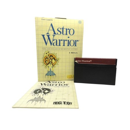 Jogo Astro Warrior - Master System