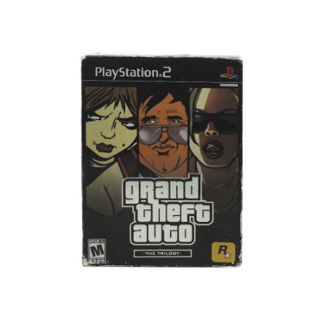 Jogo Grand Theft Auto: The Trilogy - PS2