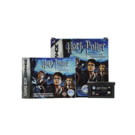 Jogo Harry Potter and the Prisoner of Azkaban - GBA