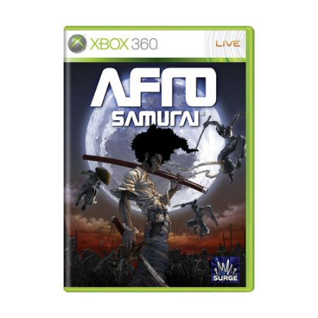 Jogo Afro Samurai - Xbox 360