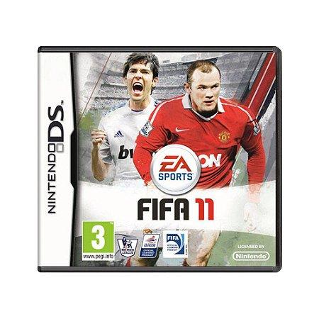 Jogo FIFA Soccer 11 - DS (Europeu)