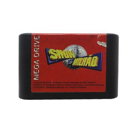 Jogo Show do Milhão - Mega Drive