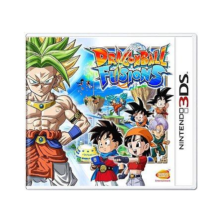 Jogo Dragon Ball Fusions - 3DS