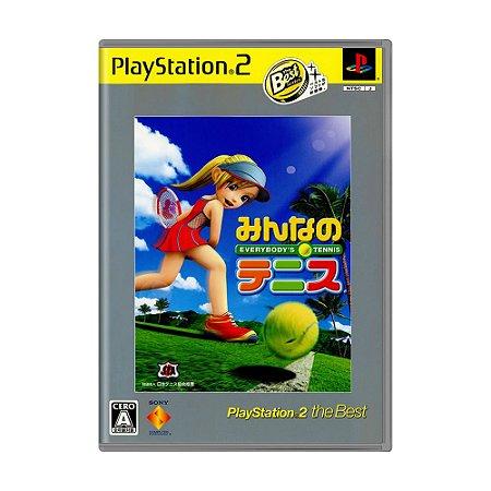 Jogo Everybody's Tennis - PS2 (Japonês)
