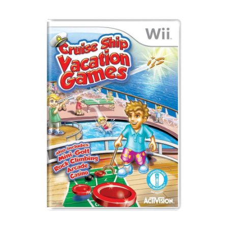 Jogo Cruise Ship Vacation Games - Wii