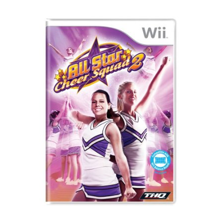 Jogo All Star Cheer Squad 2 - Wii