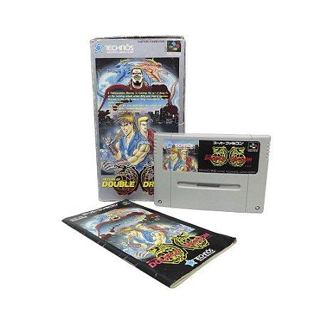 Jogo Return of Double Dragon - SNES (Japonês)