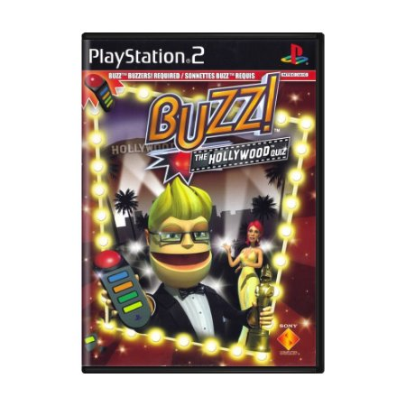 Jogo Buzz!: The Hollywood Quiz - PS2