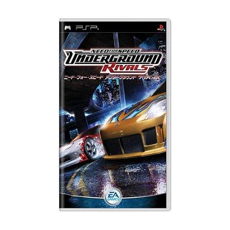 Jogo Need for Speed: Underground Rivals - PSP