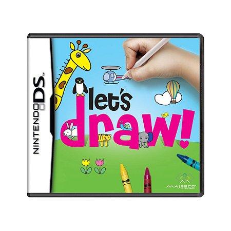 Jogo Let's Draw! - DS