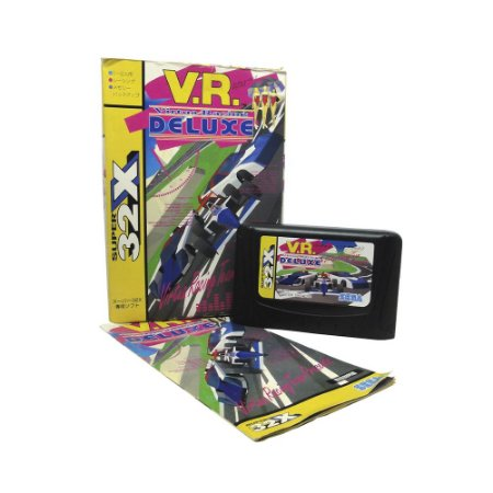 Jogo Virtua Racing Deluxe - Mega Drive